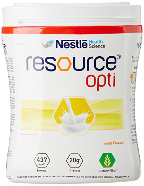 resource opti vanilla flavour 400g