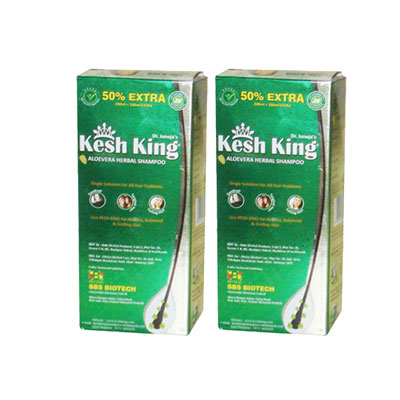 Kesh King Aloevera Herbal Shmpoo Pack of