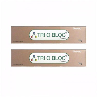 Triobloc Cream 25g pack of 2