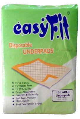 Easy Fit Disposable Underpads