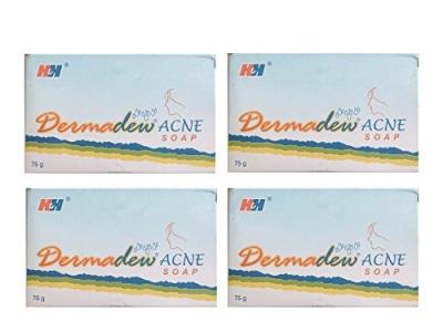 dermadew acne saop pack of 4