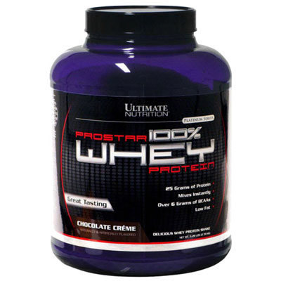 Ultimate Nutrition Prostar Whey Protein Chocolate Creme 1lb