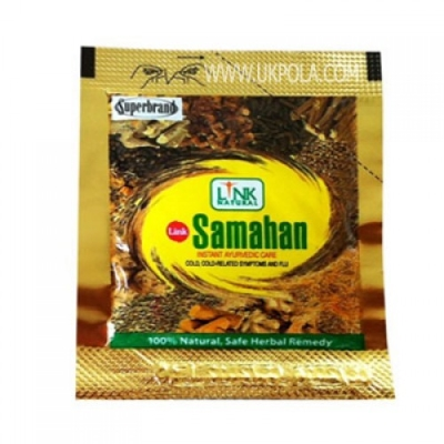 Samahan Herbal Extracts Tea for Cold Cough Immunity 100pcs 4g sachets HACCP Certified GMP Certified