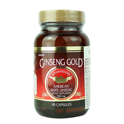 GNC American Ginseng 500 mg 90 Capsules