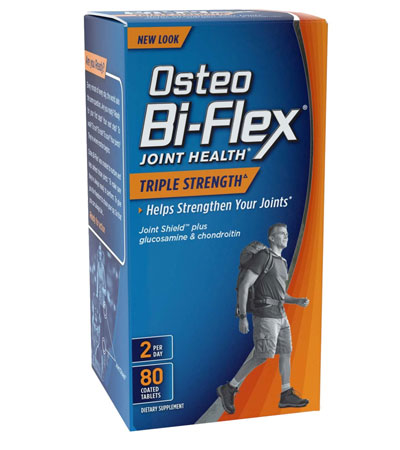 Osteo Bi Flex Joint Health Triple Strength 80 Tablets