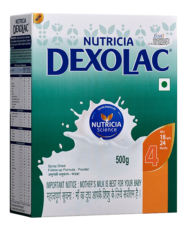 Dexolac 4 FollowUp formula  400 g pack of 2