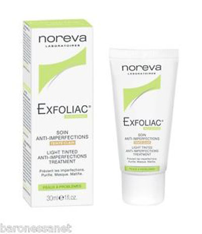 Exfoliac light Tinted Anti Imperfections Cream 30ml