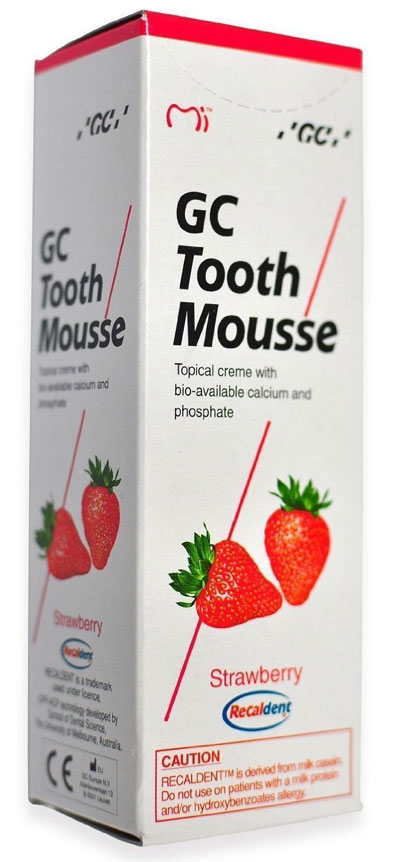 GC Tooth Mousse Strawberry 35ml