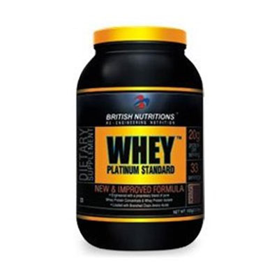 British Nutrition Whey Platinum Standard - 0.5 kg (Chocolate)