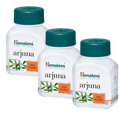 Himalaya Arjuna Caps 60s pack of 3