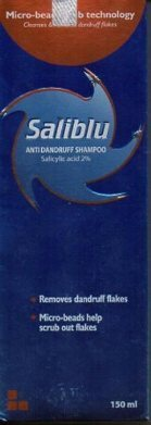 Saliblu Anti dandruff Shampoo 90 ml p.of.2
