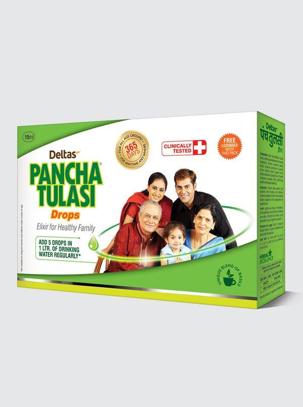 Deltas Pancha Tulasi Drops 15ml