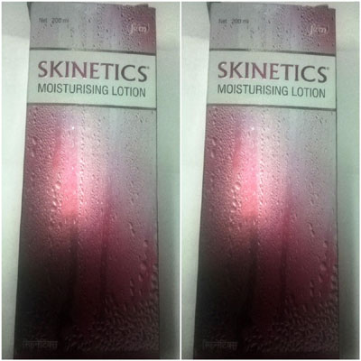 Skinetics Moisturising Lotion 200ml pack of 2
