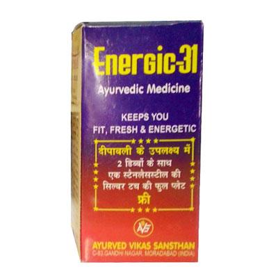 Energic 31 80 Capsules