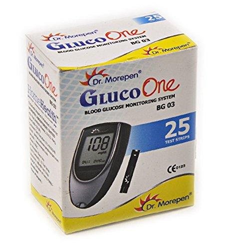 Dr Morepen BG03 Blood Glucose Test Strips Pack of 25