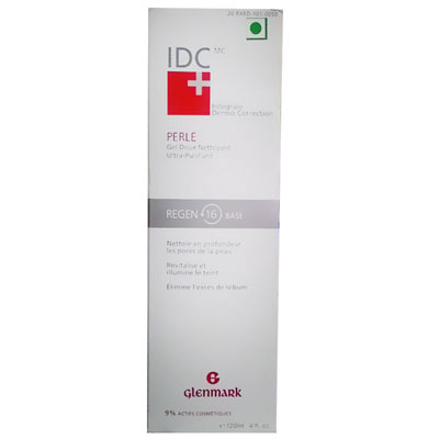 Glenmark IDC Pearl Gel Cleanser 120ml