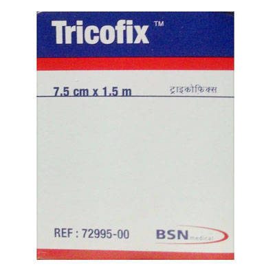 Tricofix Ribbed Cotton Stocinette B.P 7.5 cm x 1.5m