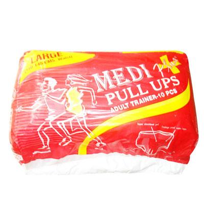 Medi Plus Pull Ups Adult Trainer 10 Pcs Large