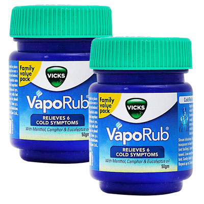 Vicks Vaporub 50 ml Pack Of 2