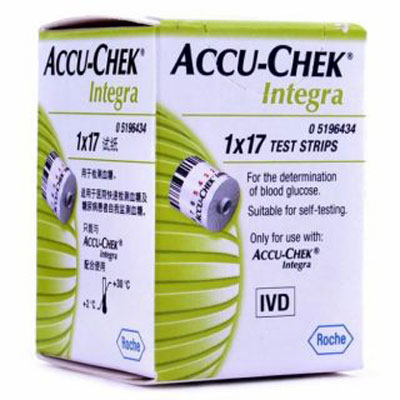 Accu Check Integra Strips 17s