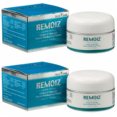 Remoiz Cream Urea 100 gm Pack Of 2