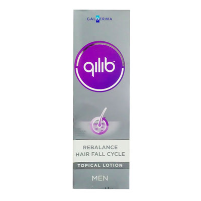 Qilib Rebalance Hair Fall Cycle Lotion Men 80 ml
