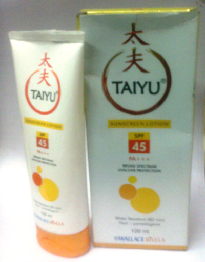 Taiyu Sun Screen Lotion 100ml