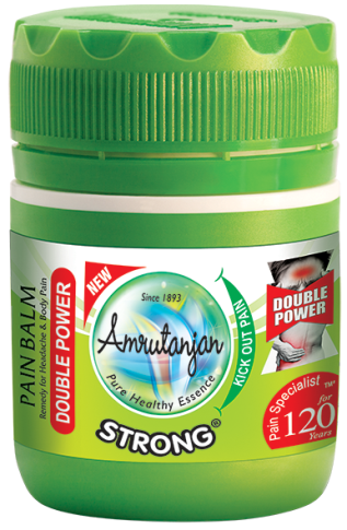 Amrutanjan STRONG PAIN BALM PACK OF 4