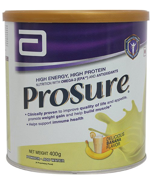 Prosure delicious BANANA flavour 400g