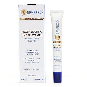 Yu Reverzo Regenerating UnderEye Gel With Stem Cells and Hyaluronic Acid 15ml