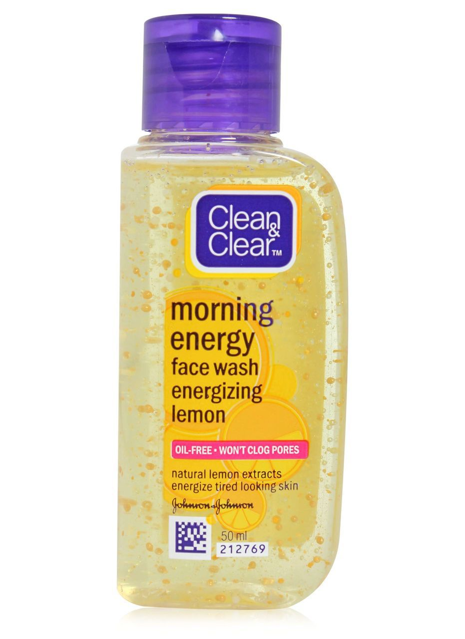 Clean Clear morning energy pack of 2 LEMON
