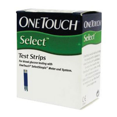 OneTouch Select Test Strips 25s