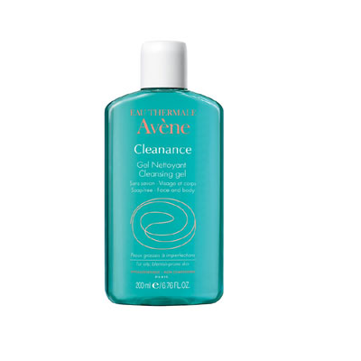 Avene cleanance cleansing gel soap free 200ml