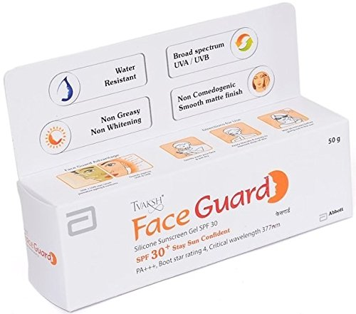 Tvaksh Face Guard Spf 30++pa 50gm