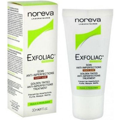Exfoliac Golden Tinted Anti Imperfections Cream 30ml