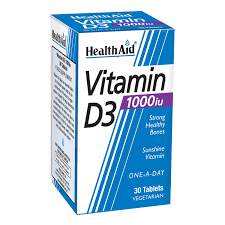 Vitamin D3  1000iu 30 Tablets