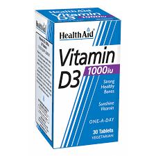 Vitamin D3  1000iu 30 Tablets