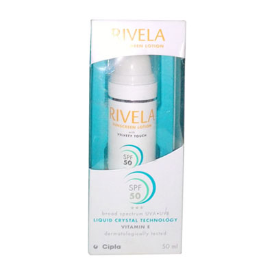 Rivela SunScreen SPF50 Lotion 50ml