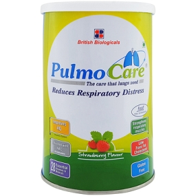 PulmoCare strawberry flavour 200g