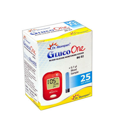 Dr Morepen Gluco One Blood Glucose Monitoring System BG 02