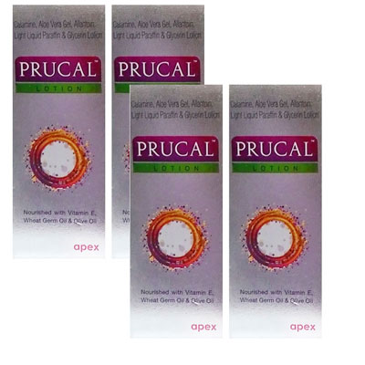 Prucal Lotion Pack Of 4