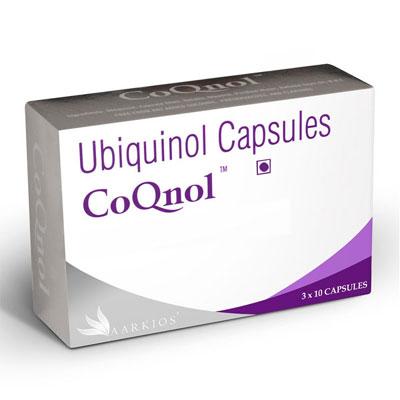 Ubiquinol Capsules Coqnol 10`S