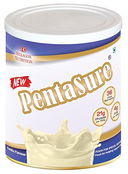 Pentasure vanilla flavour 400g
