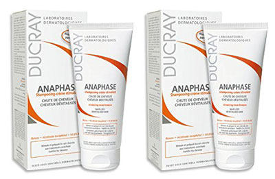 Ducray Anaphase Cream Shampoo with Hair Care Guide by Kapro 100ml Pack of 2