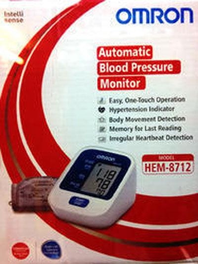 Omron BP Monitor HEM 8712