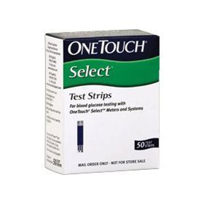 One Touch Select 50 Test Strips