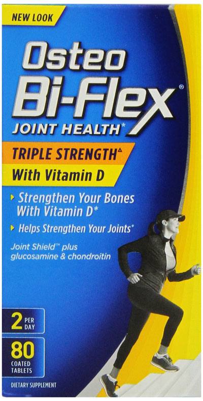 Osteo Bi Flex Triple Strength with Vitamin D3 2000 iu 80 Count