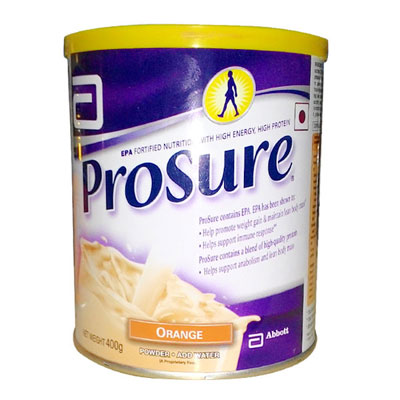 Prosure Orange flavour 400gm