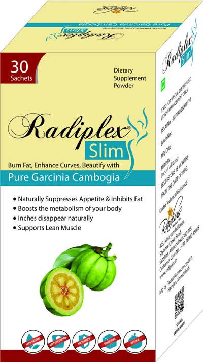 Radiplex Slim  1500mg 30 Sachets
