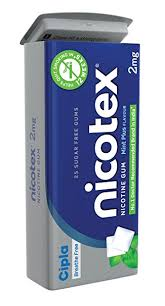 Nicotex tin mint plus flavour Pack of  4